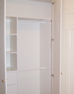 interior fittings - Built In Wardrobe