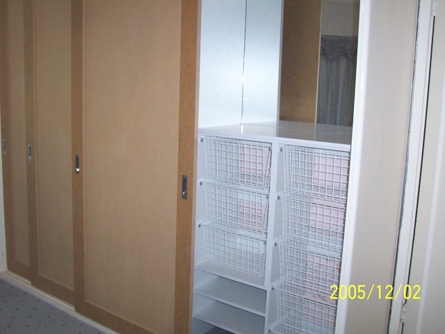 Metropolitan built in wardrobes sydney sliding doors for Built in sliding doors